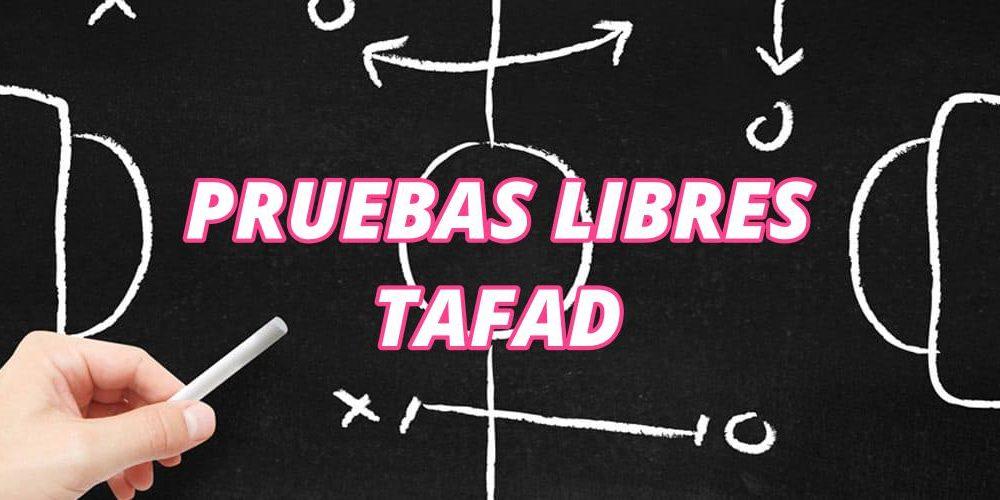 Pruebas Libres TAFAD: 2019-2020