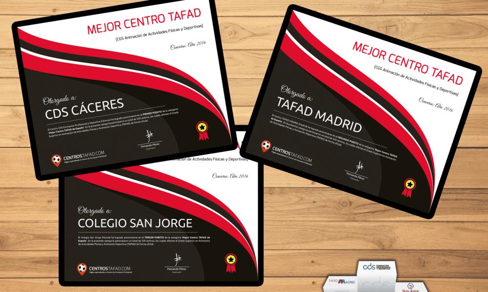 Resultados Concurso Mejor Centro TAFAD 2016
