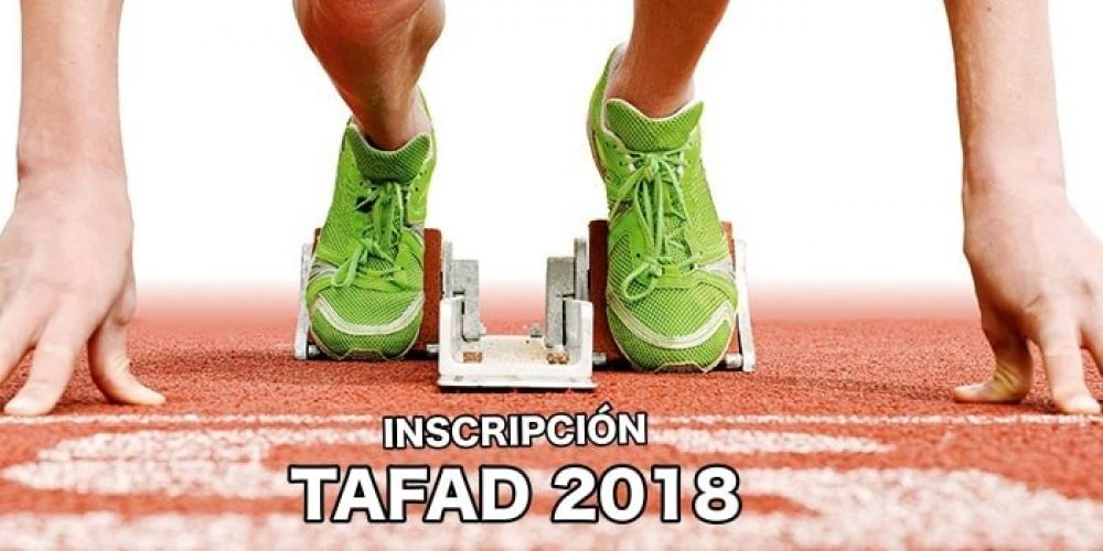 TAFAD: Inscripción para el curso 2018-2019
