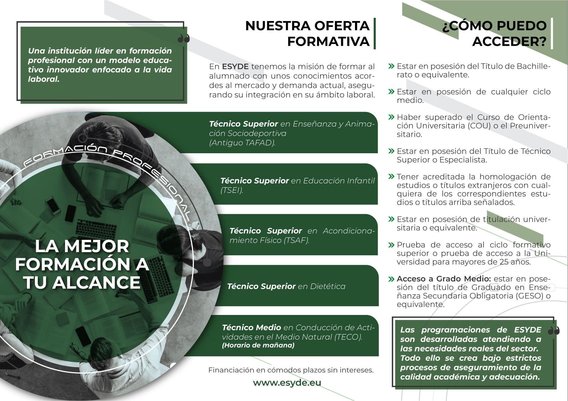 Centro Esyde Formación Huelva Centro Tafad Huelva