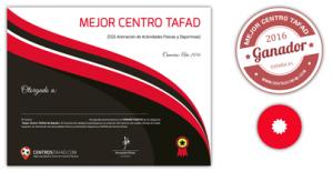 Premios Concurso Mejor Centro TAFAD 2016
