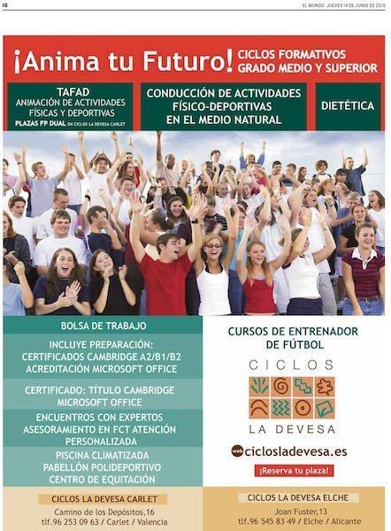Colegio La Devesa Centro Tafad Carlet Valencia